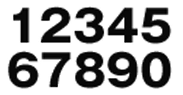 グローバルフォント Helveticaフォント無料 : モリサワの数字に似たフォント ...